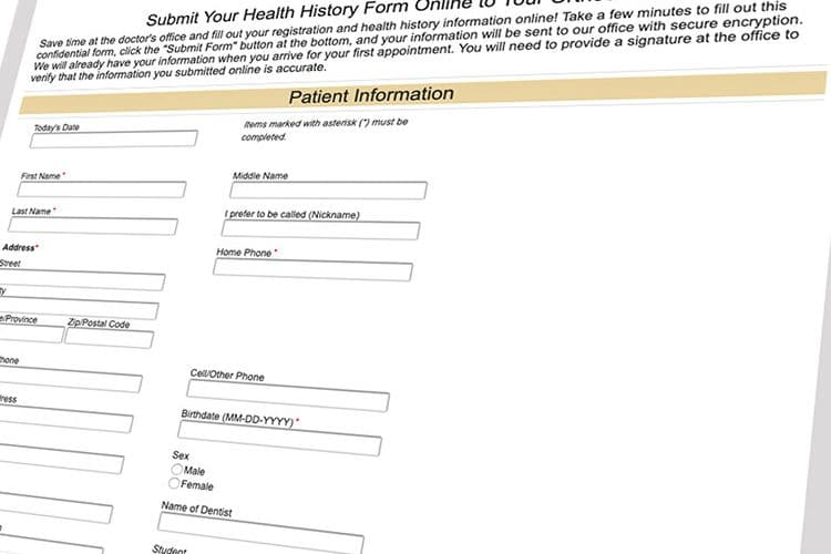 cooper chockley misner patient form online